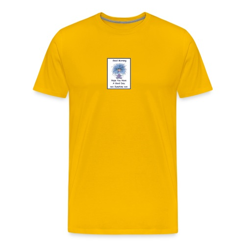 Morning sunshine - Men's Premium T-Shirt