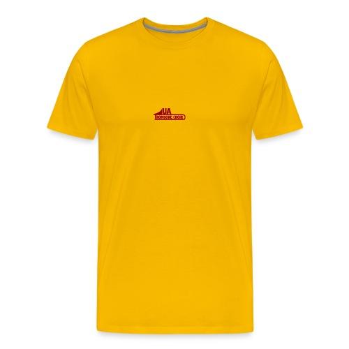 UA_trombonechoirCrimson - Men's Premium T-Shirt