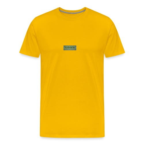 NUGS reflective logo - Men's Premium T-Shirt