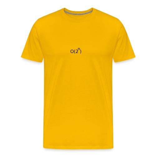 Big-O Notation - Men's Premium T-Shirt