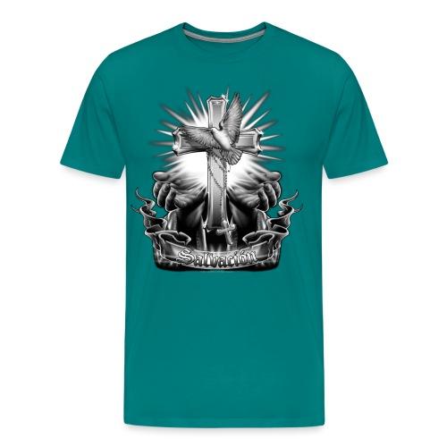 Salvacion by RollinLow - Men's Premium T-Shirt