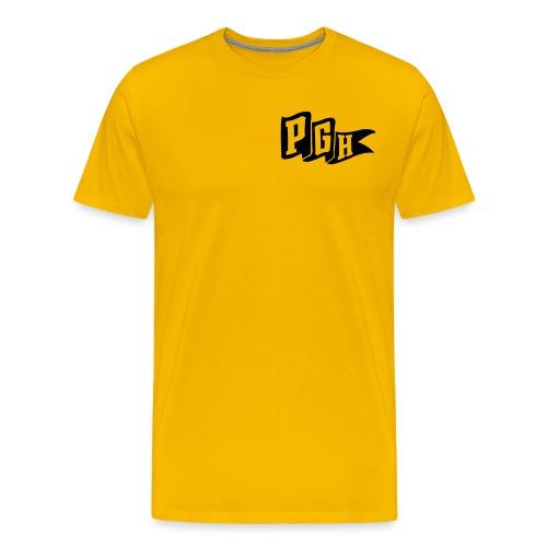 pgh flag - Men's Premium T-Shirt