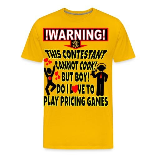 TV Game Show Contestant - TPIR (The Price Is) - Men's Premium T-Shirt