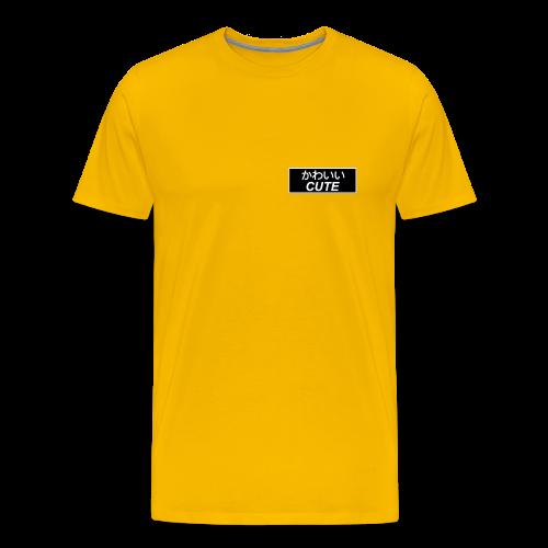 Kanji Kawaii - Men's Premium T-Shirt