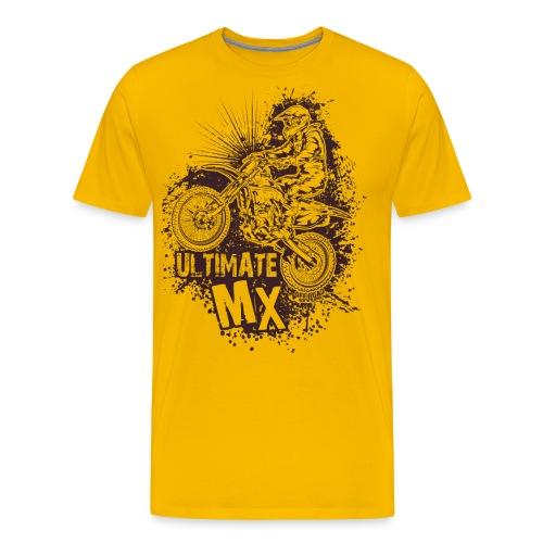 Ultimate FMX Grunge - Men's Premium T-Shirt