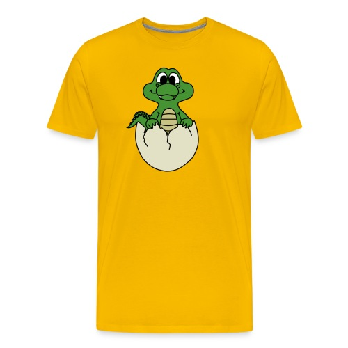 Crock Hatchling - Men's Premium T-Shirt