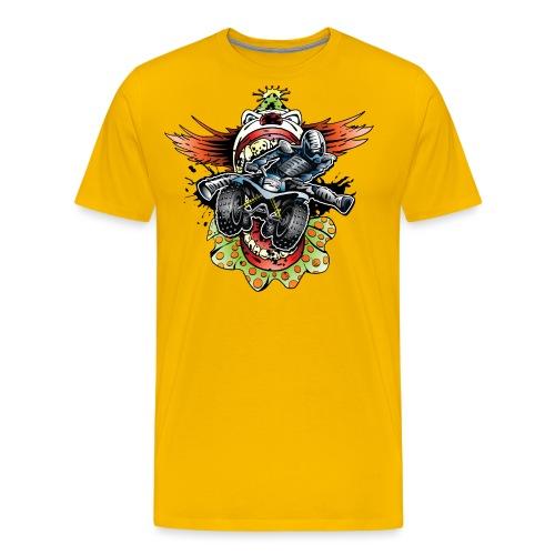 Clownin' Quad Rider - Men's Premium T-Shirt