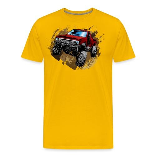 Muddy Red Truck - Men's Premium T-Shirt