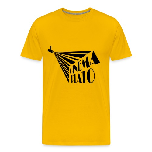 Cinema Plato copy png - Men's Premium T-Shirt