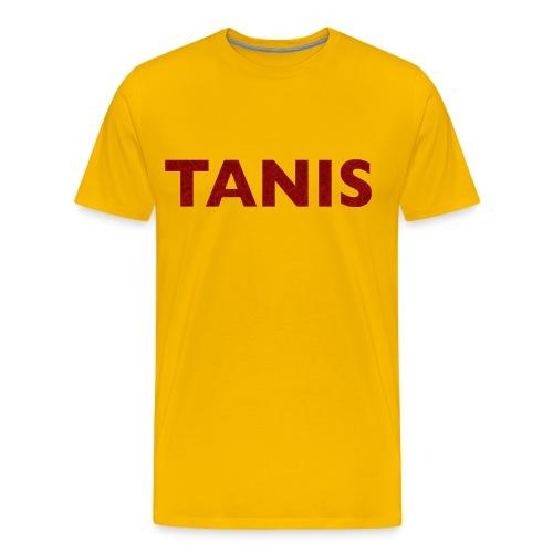 TANIS LETTERS TSHIRTb - Men's Premium T-Shirt