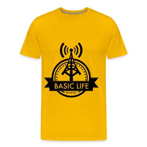Basic-Life-Radio-Logo - Men's Premium T-Shirt