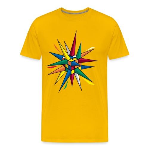 Spike Cube - Men's Premium T-Shirt
