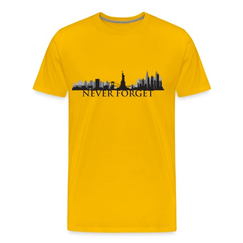 New York: Never Forget - Men's Premium T-Shirt