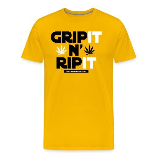gripit png - Men's Premium T-Shirt