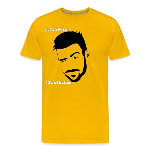 Portrait of beard v2 - Men's Premium T-Shirt