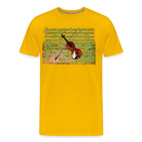 Violin Caprice - Men's Premium T-Shirt