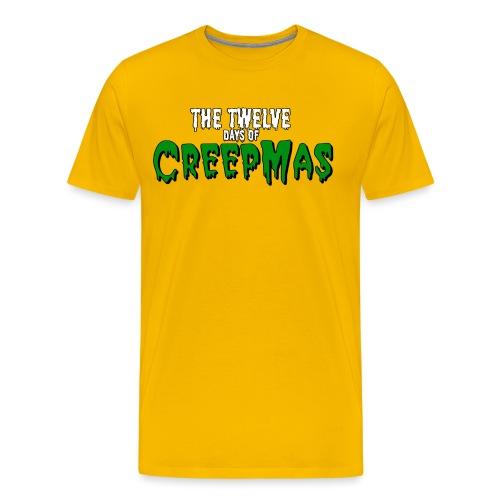 TwelveDaysOfCreepmas png - Men's Premium T-Shirt