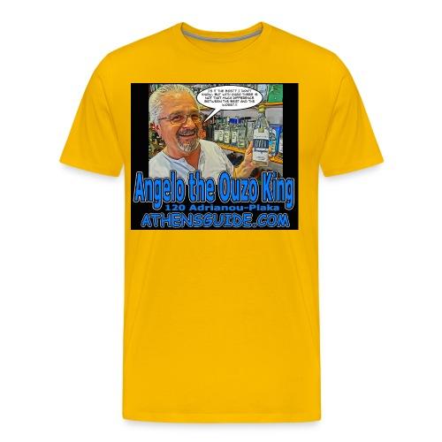 Angelo Black jpg - Men's Premium T-Shirt