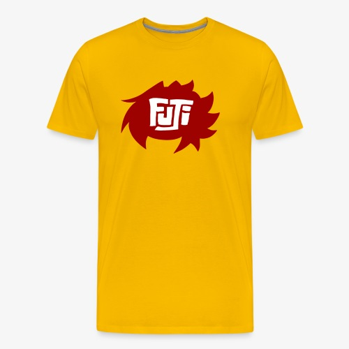 Fuji Channel LOGO Banner png - Men's Premium T-Shirt