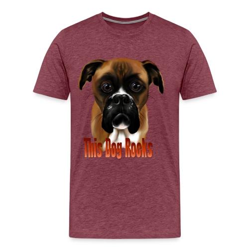 This Dog Rocks - Men's Premium T-Shirt