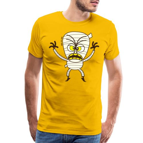 Scary Halloween Mummy - Men's Premium T-Shirt