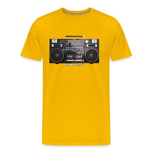 Helix HX 4700 Boombox Magazine T-Shirt - Men's Premium T-Shirt