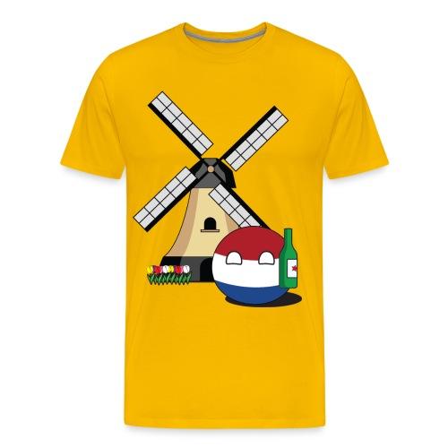 NetherlandsBall I - Men's Premium T-Shirt
