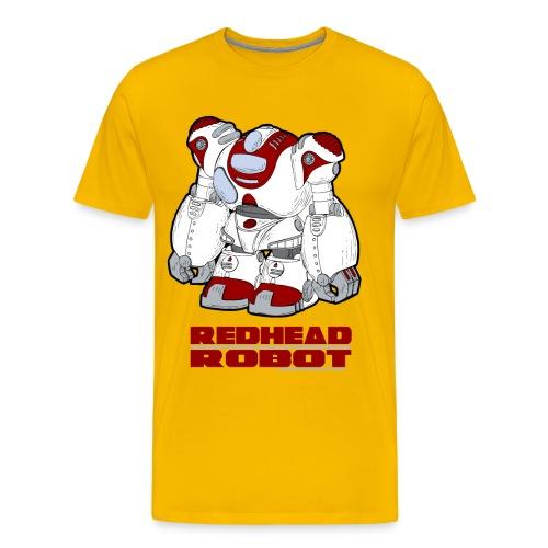 Redhead Robot - Men's Premium T-Shirt