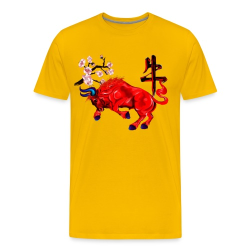 The Red Ox - Men's Premium T-Shirt