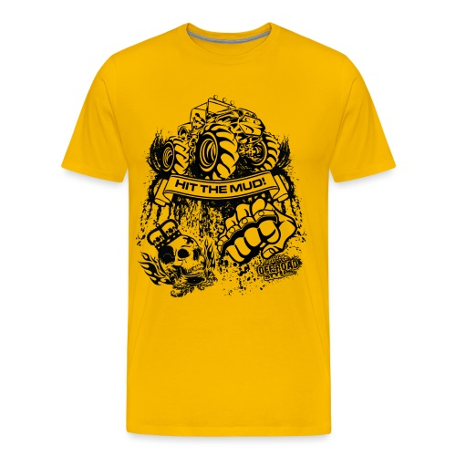 Mudding Jeep Shirt - Men's Premium T-Shirt