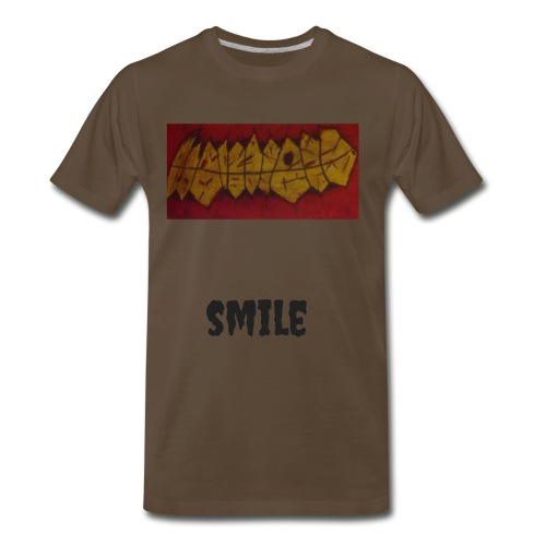 Smile S.J. Art - Men's Premium T-Shirt