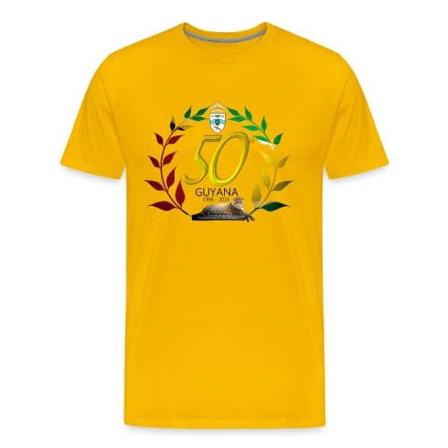 Guyana's 50th - Men's Premium T-Shirt