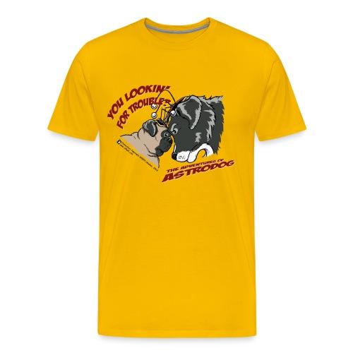 NewAstrodog-t-shirt - Men's Premium T-Shirt