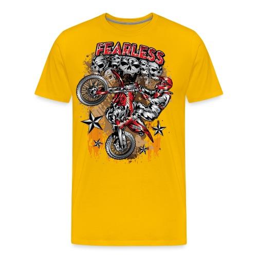 Fearless Motocross Honda - Men's Premium T-Shirt