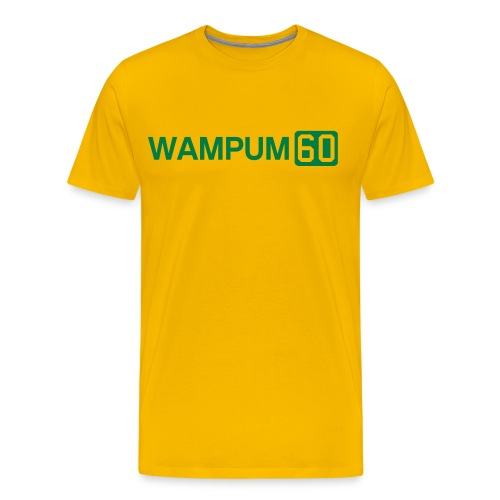 WAMPUM60 - Men's Premium T-Shirt