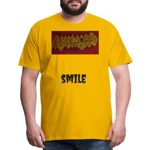 Smile S.J. Art - Men's Premium T-Shirt