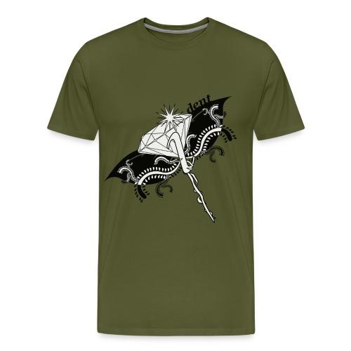 ident long bottom - Men's Premium T-Shirt