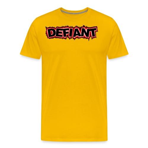 New Defiant Logo gif - Men's Premium T-Shirt