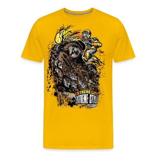 ATV Crawler Orange - Men's Premium T-Shirt