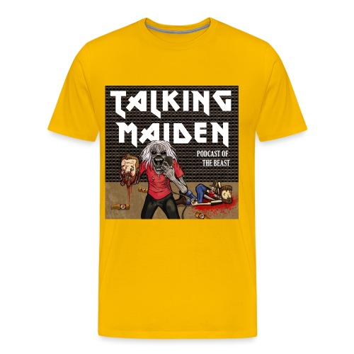 Talking Maiden Covert Art - Men's Premium T-Shirt