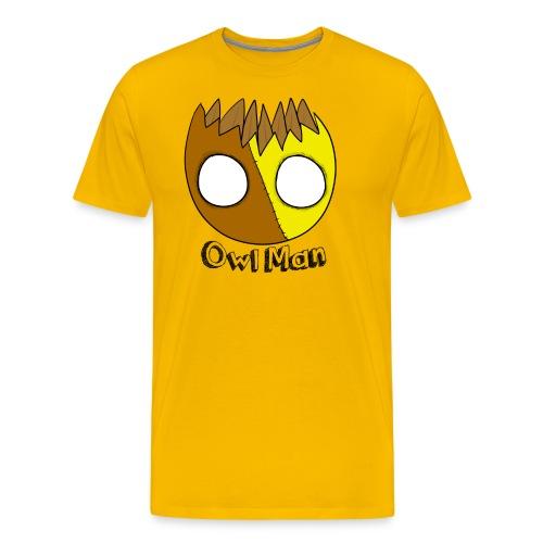 Owl Man T Shirt - Men's Premium T-Shirt