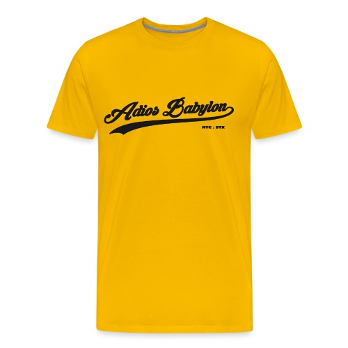 Adios Babylon NYC : STX - Men's Premium T-Shirt