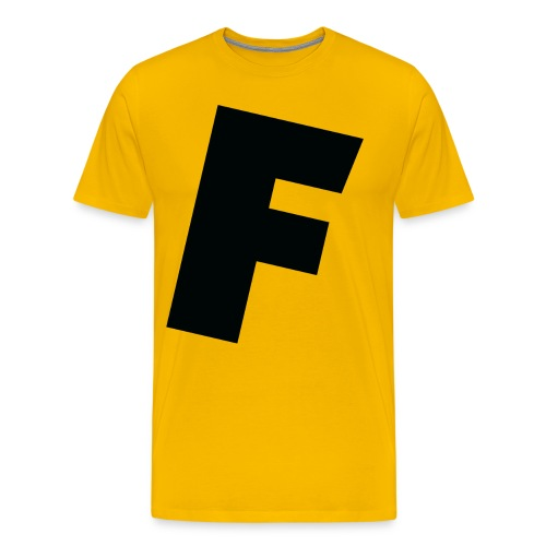 F slanted - Men's Premium T-Shirt