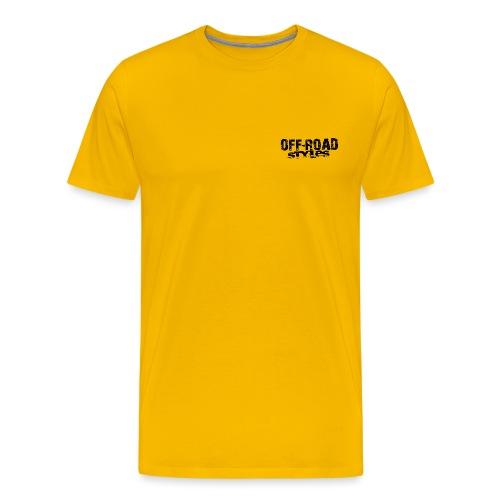 Monster Truck Grungy blk Women's T-Shirts - Men's Premium T-Shirt