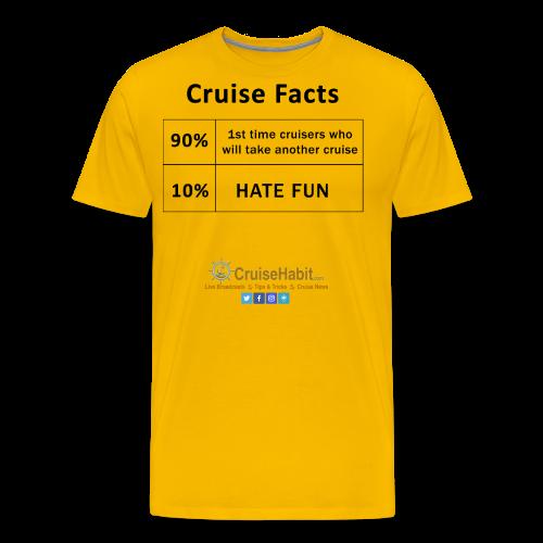 Cruise Facts - Men's Premium T-Shirt