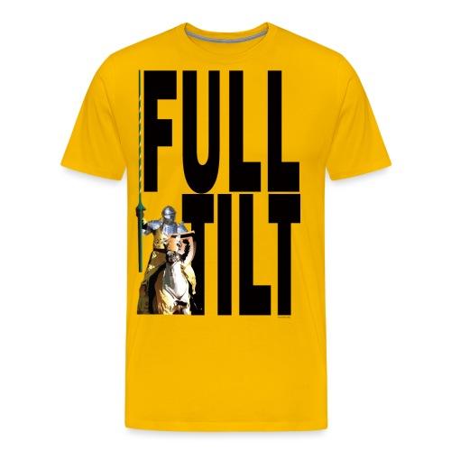 full_tilt_black_text - Men's Premium T-Shirt