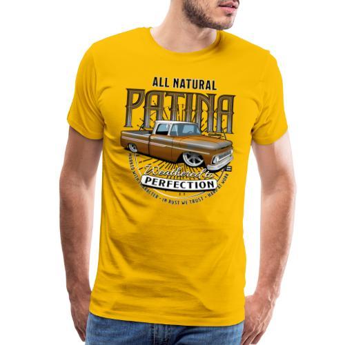 AllNatural GOLD4000 - Men's Premium T-Shirt
