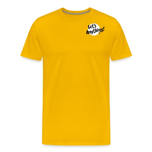 Let's Anything Classic Logo - Men's Premium T-Shirt
