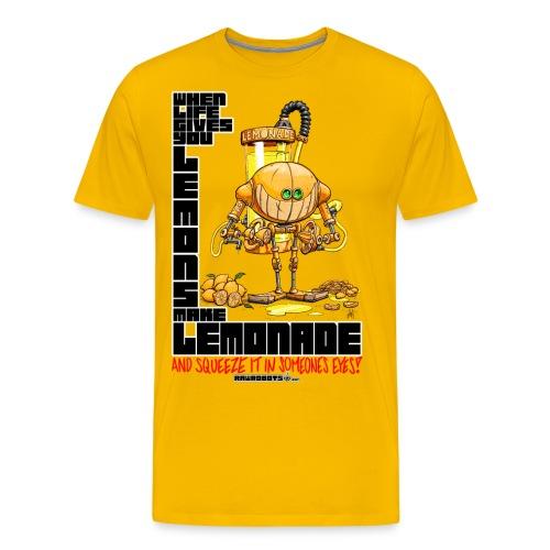 Lemonade Robot!🍋 - Men's Premium T-Shirt
