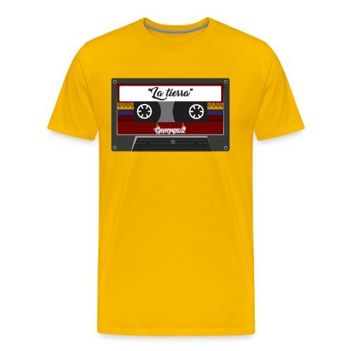 cassette la tierra - Men's Premium T-Shirt